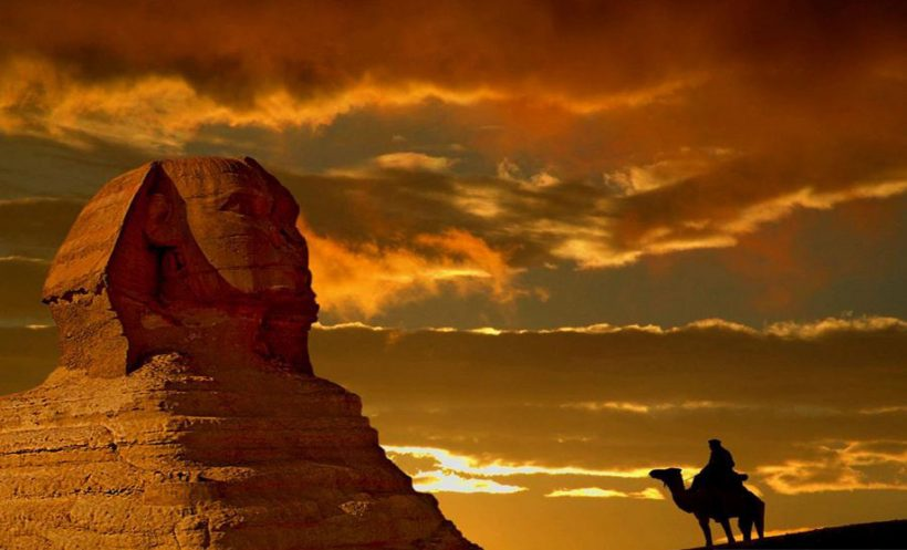 egyptraveluxe-sunset-at-sphinx